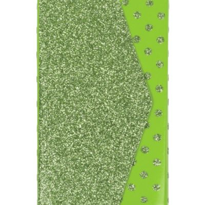 Glitter Green Purse Notepad