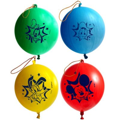 Mickey Mouse Punch Balloons 4ct