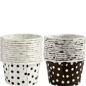 Wilton Polka Dot Nut & Party Cups 24ct