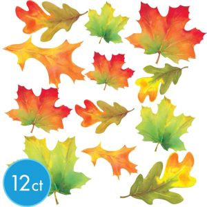 Fall Leaves Cutouts 12ct