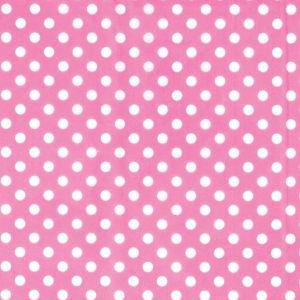 Pink Dot Printed Tissue Paper 8ct