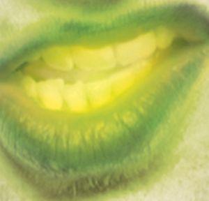 Biohazard Zombie Glow Mouthpiece
