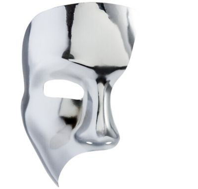 Silver Phantom Mask