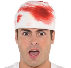 Bloody Bandage Headpiece