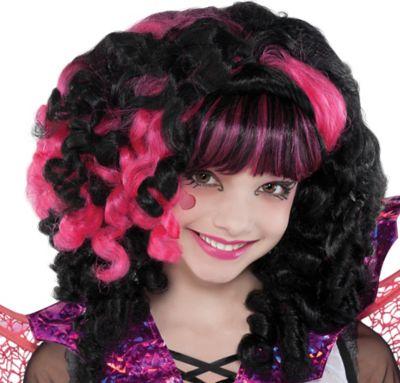 Child Monster High Draculaura Wig Supreme