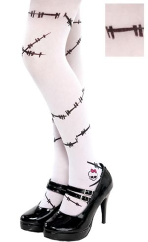 Child Monster High Frankie Stein Tights