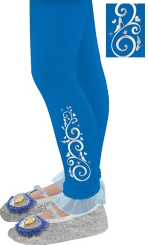 Child Footless Cinderella Tights
