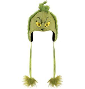Grinch Hoodie Hat