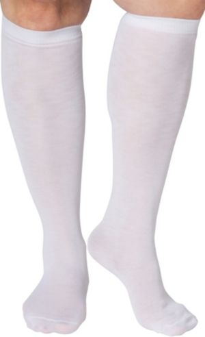 Colonial White Knee Socks