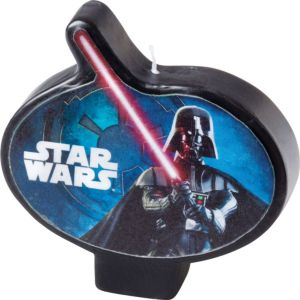 Star Wars Birthday Candle 3in