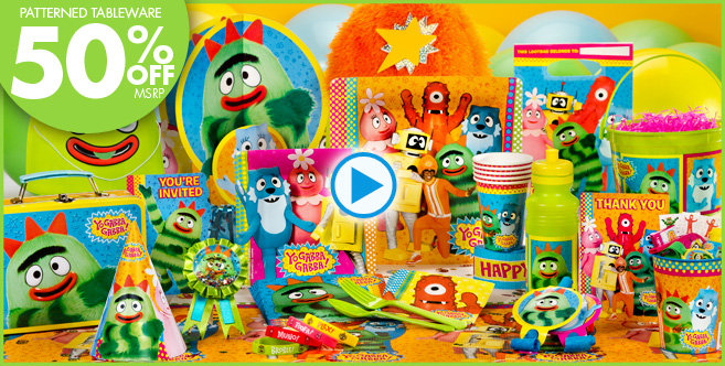 Yo Gabba Gabba Party Supplies - Yo Gabba Gabba Birthday Ideas