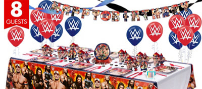 WWE Party Supplies Super Party Kit
