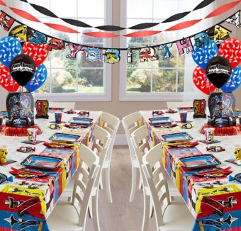 Power Rangers Ninja Steel Deluxe Party Kit for 16 Guests