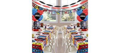 Power Rangers Party Supplies Deluxe Party Kit