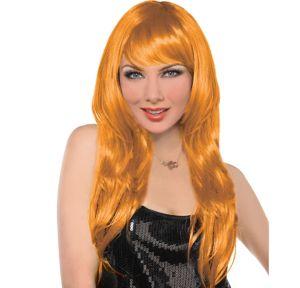 Glam Orange Wig