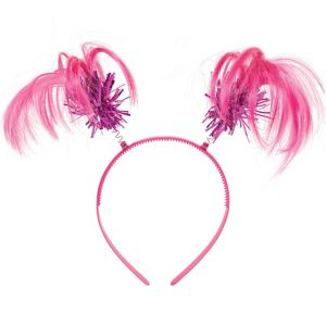 Pink Ponytail Headband