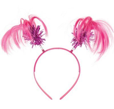 Pink Ponytail Headband