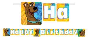 Where Are You Scooby-Doo Birthday banner