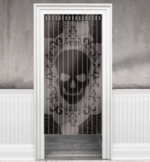 Skeleton Doorway Curtain