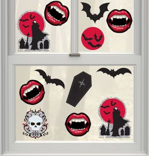 Vampire Cling Decals 12ct