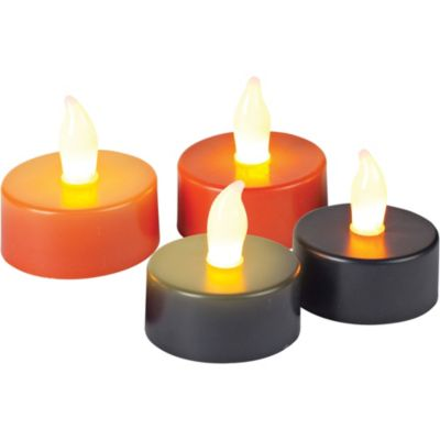Halloween LED Tea Lights 4ct