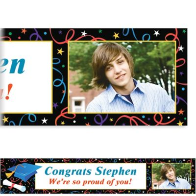 Grad Celebration Custom Photo Banner