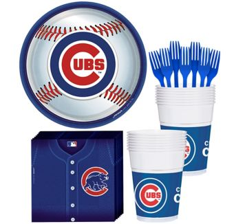 Chicago Cubs Basic Party Kit for 16 Guests