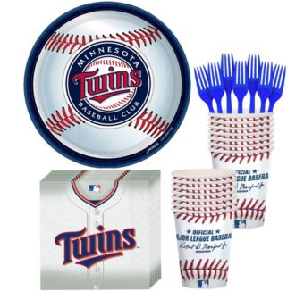 Minnesota Twins Basic Party Kit for 16 Guests