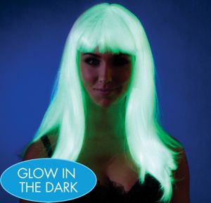 Ravewear Glow In The Dark Long Wig