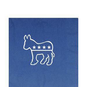 Democrat Lunch Napkins 16ct