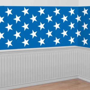Patriotic Stars Room Roll