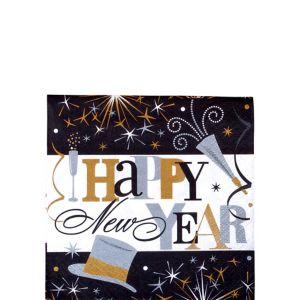 Elegant Celebration Beverage Napkins 125ct
