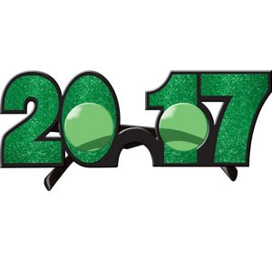 Glitter Green 2017 Glasses