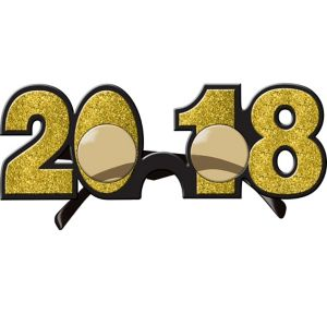 Glitter Gold 2017 Glasses