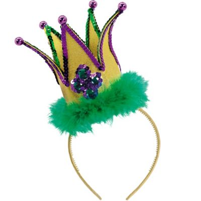 Fashion Mardi Gras Jester Headband