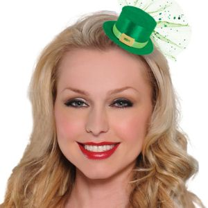 Clip-On Leprechaun Mini Top Hat