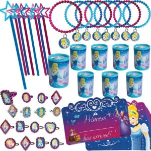 Cinderella Favor Pack 48pc