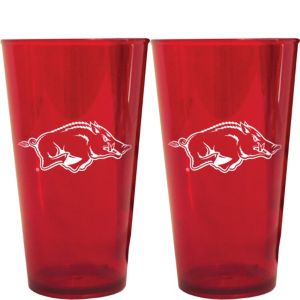 Arkansas Razorbacks Pint Cups 2ct