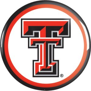 Texas Tech Red Raiders Button