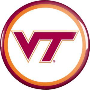 Virginia Tech Hokies Button