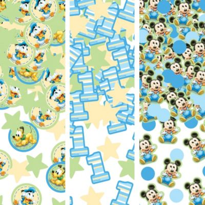 1st Birthday Mickey Mouse Confetti