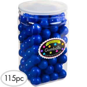 Royal Blue Gumballs 115pc