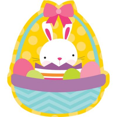 Easter Bunny Basket Cutout