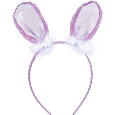 Purple Bunny Ears Headband