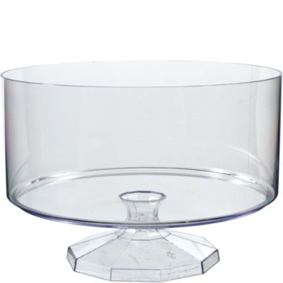 Clear Plastic Trifle Container 7 1/2in