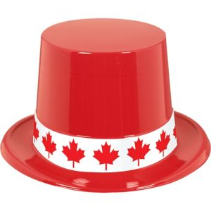 Patriotic Canadian Top Hat