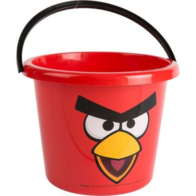Plastic Angry Birds Easter Basket