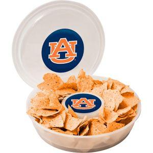 Auburn Tigers Chip & Dip Tray