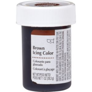 Brown Icing Color