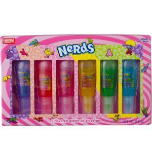 Nerds Lip Gloss Set 6ct